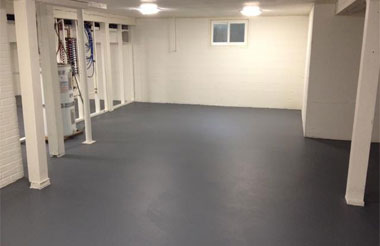 Epoxy Basement Flooring