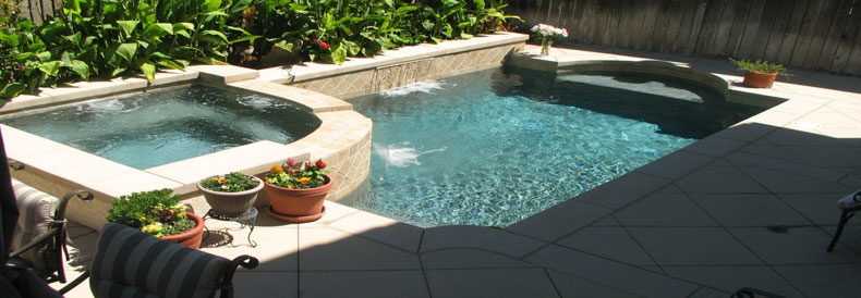 Tile Pool Deck