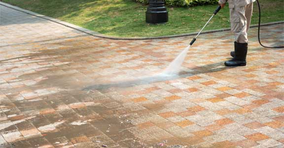 power wash house service